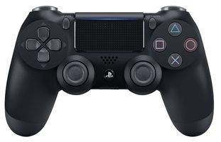 DualShock 4 V2 PS4 Wireless Controller, Black -  0711719870050 - Zimtechtools