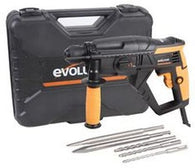 Evolution SDS4-800 Four Function SDS Hammer Drill (230V) - Zimtechtools