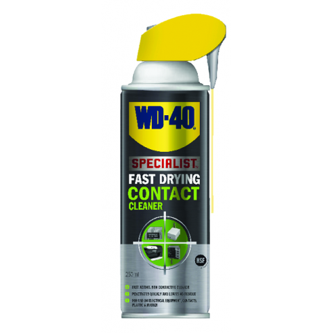 WD-40 2024596 Specialist Fast Drying Contact Cleaner 400ml - Zimtechtools