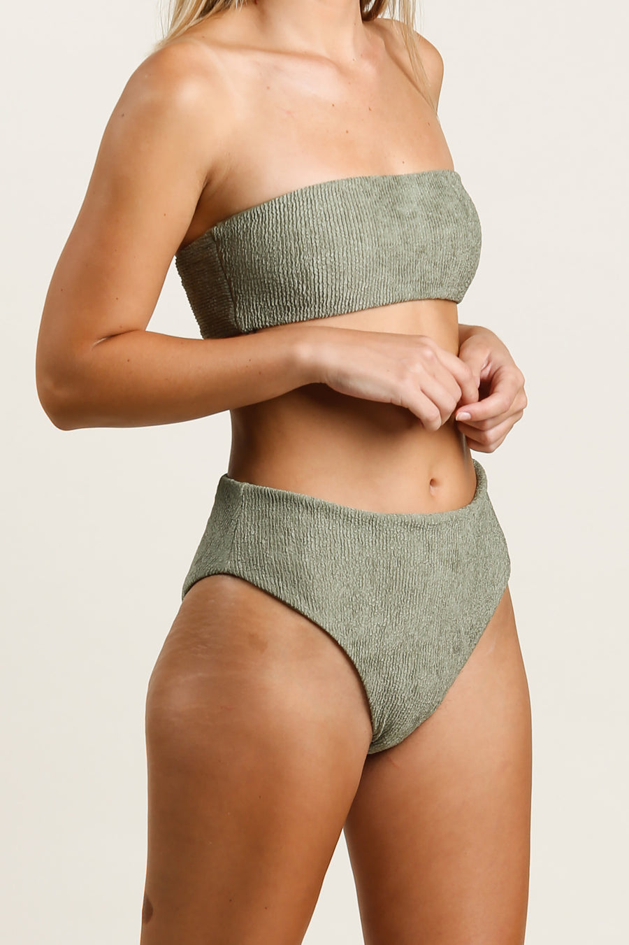 Brynn Top Dusty Green - Label B