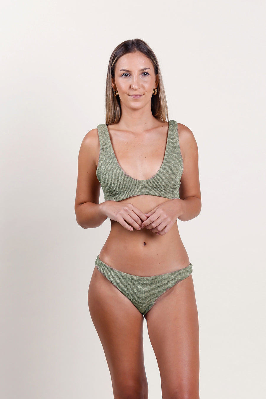 Mego Top Dusty Green - Label B