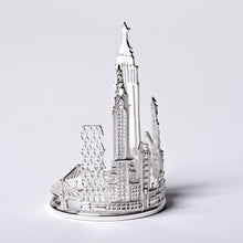 Silver New York Napkin Ring by Jen Ricketts