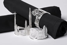 Collection of Silver Napkin Rings by Jen Ricketts