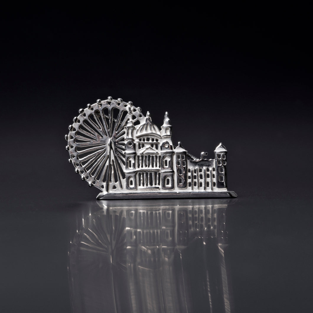 London Skyline Brooch