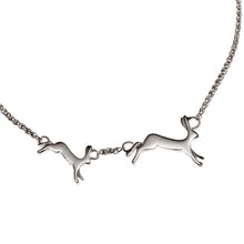'Running Hares' Necklace