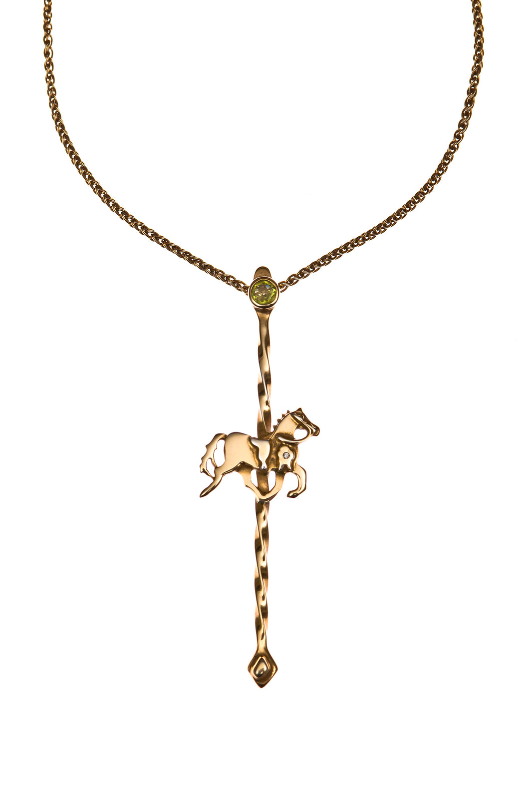 Carousel Necklace (30% off SILVER necklace at checkout)