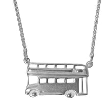 Silver Bus Necklace by Jen Ricketts