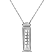 British Telephone Box Necklace by Jen Ricketts