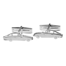 Silver Hand Made Aston Martin Cufflinks by Jen Ricketts