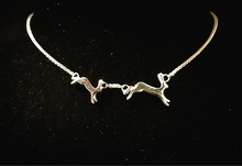 'Running Hares' Necklace (30% off at checkout)