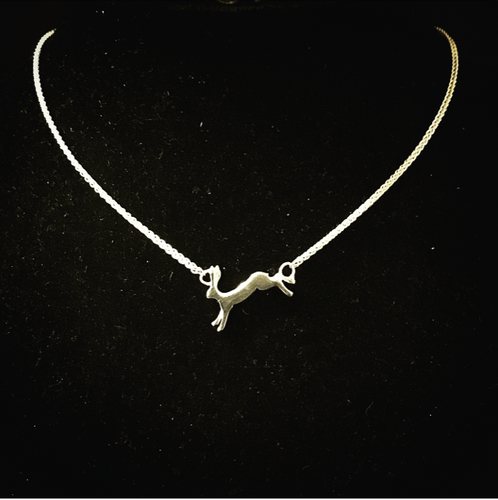 'Running Hare' Necklace