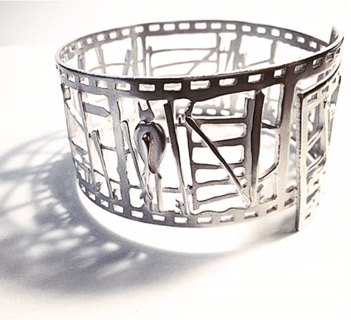 Countryside Scene Filmstrip bangle (30% off at checkout)