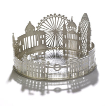 Silver London Wine Coaster