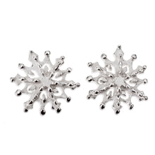 Snowflake stud earring No. 3 (2018 Edition)