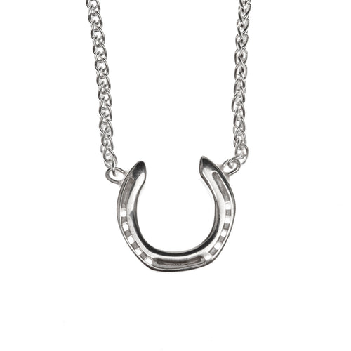Back Horse Shoe Necklace