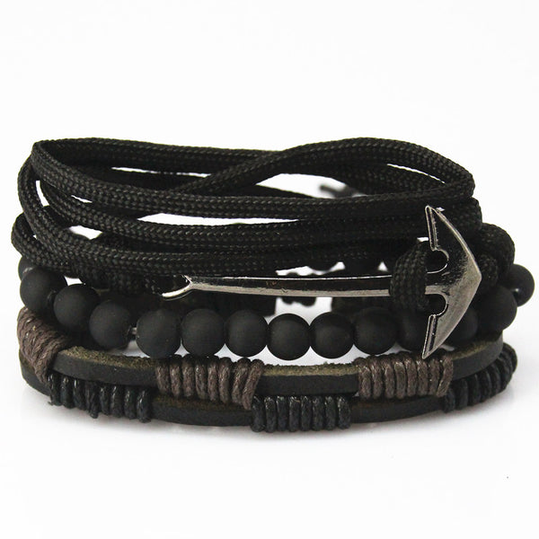 Bead Leather Bracelets