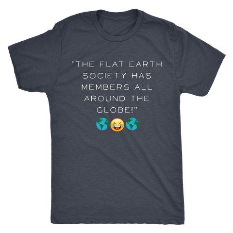 Funny Flat Earth Conspiracy T-shirt