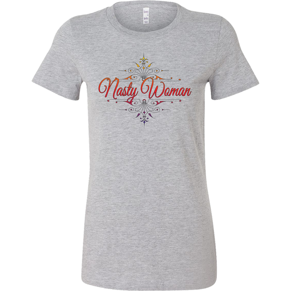 "Vintage ""Nasty Woman"" Bella Womens' Tee"