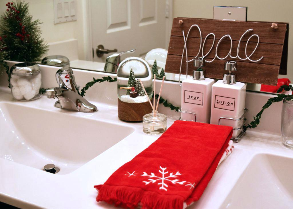 Give Your Guest Bath a fancy Hotel Feel