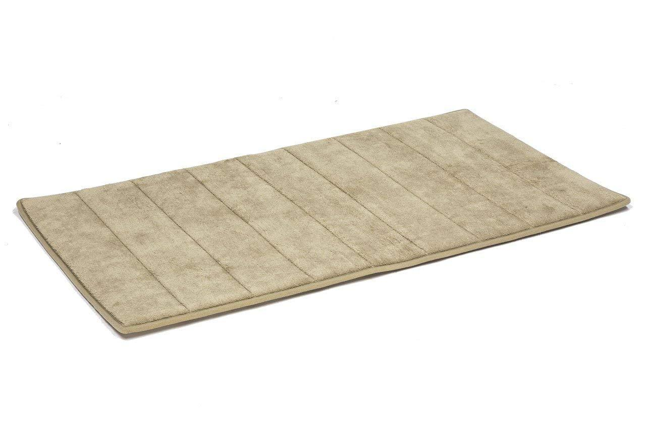Simple Deluxe Memory Foam Bathroom Or Kitchen Rug Washable