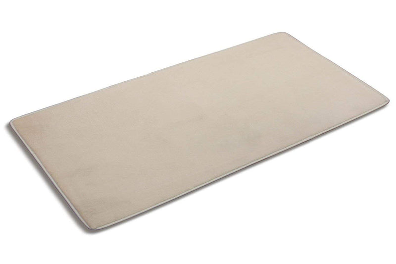 Simple Deluxe Memory Foam Bathroom or Kitchen Rug - Washable Absorbent