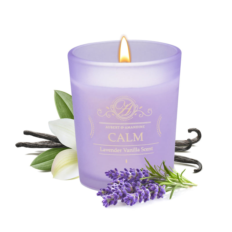 Aromatherapy Scented 4 Candles Gift Set