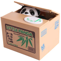 Cute Panda  Money Stealing Piggy Bank