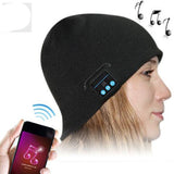 Universal Outdoor Sport Bluetooth Stereo Magic Music Hat-Black