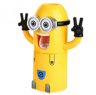 Automatic Toothbrush Holder with Toothpaste Dispenser as minions