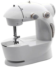4 In 1 Mini Sewing Machine Basic Stitching, White