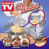 Chef Basket Cooker Strainer 12 in 1 Kitchen Tool