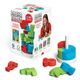 Logiq Tower Puzzle 3D Wooden Puzzle Game for Kids