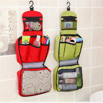 TRAVEL TOILETRY WASH BAG POUCH