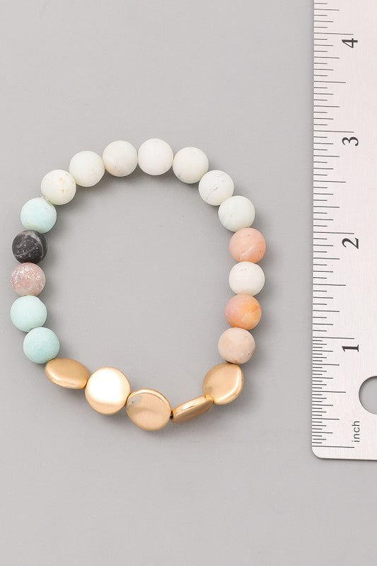 Earth Bead Bracelet
