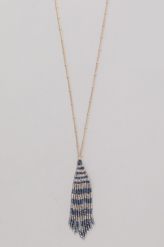 Fame Fringe Necklace