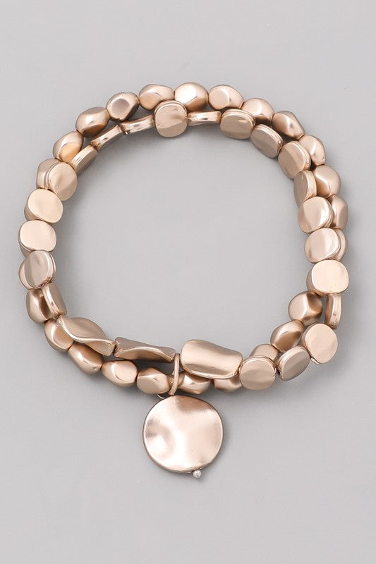 Bronze Stacked Bracelet