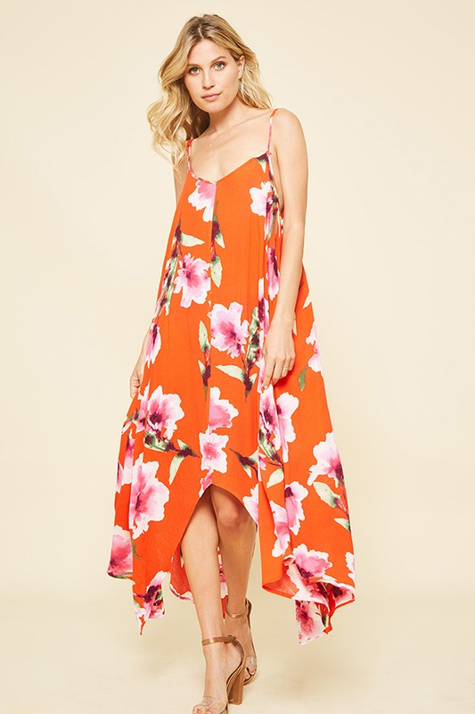 Stella Maxi in Burnt Orange