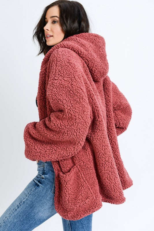 Teddy Bear Cardigan Coat