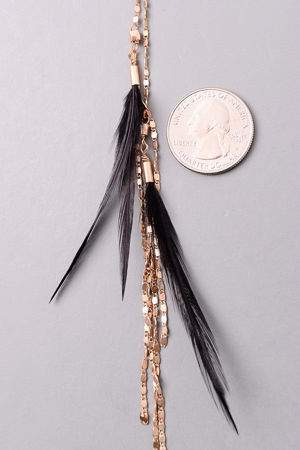 Swiss Feather Necklace
