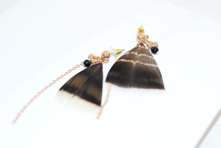 Gracelyn Feather Earrings