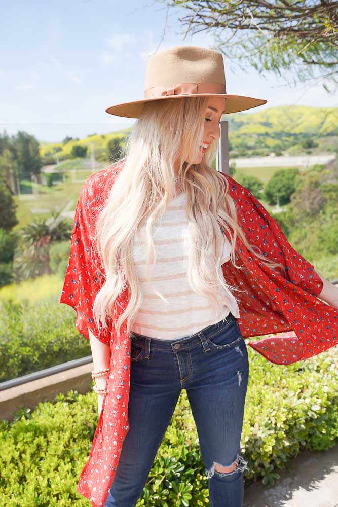Ruby Tie Waist Kimono 2 Color Options