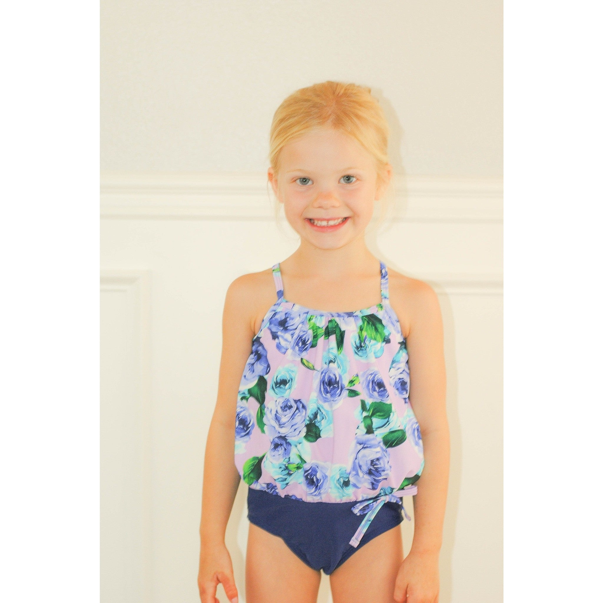 Makena Girls Floral One Piece