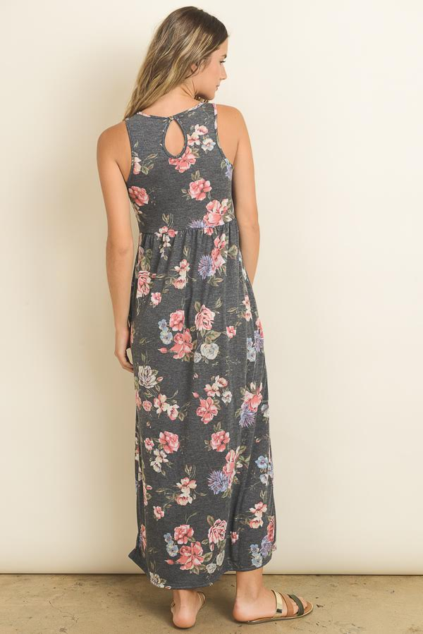 Simply Floral Maxi Dress