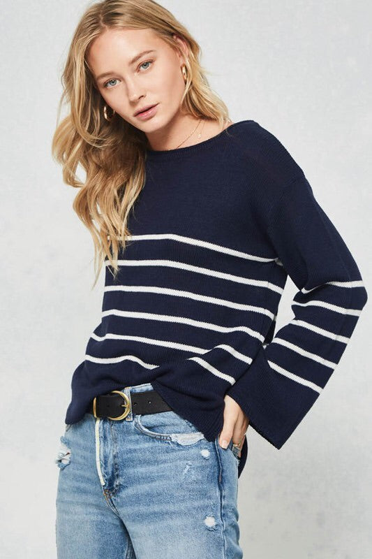 Rachel Sweater in Navy