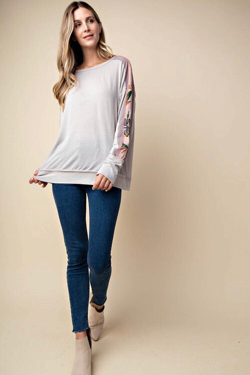 Champagne Contrast Sleeve