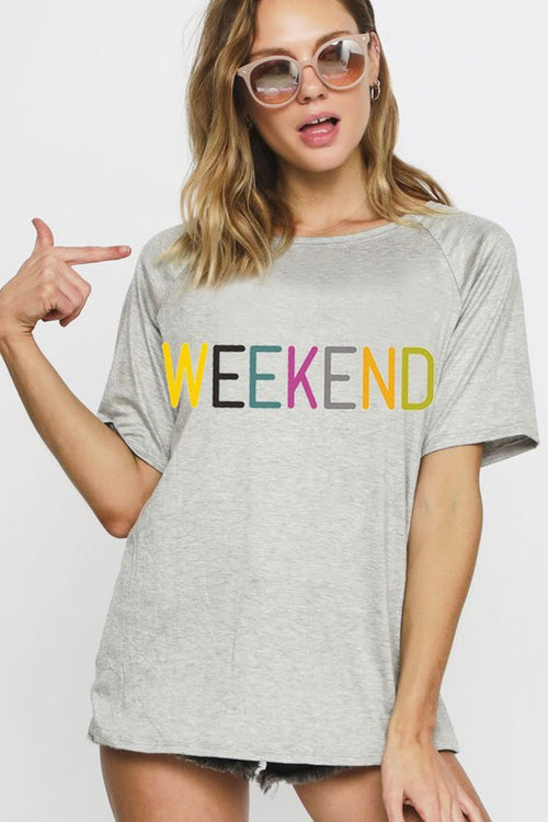 Weekend Graphic Tee