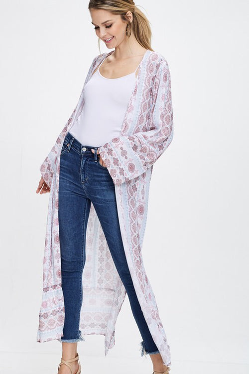 Long Sleeve Duster