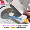 [VIP] Two Packs of Eco Laundry Strips & Three FREE Dryer Balls