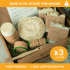 Family Bundle: Easy To Stock Up. 25 Items & 4 FREE. Save $110