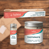 Natural Toothpaste, Brush, Floss Bundle: Save 30%